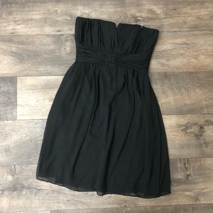 New WHBM Black Chiffon party dress size 4
